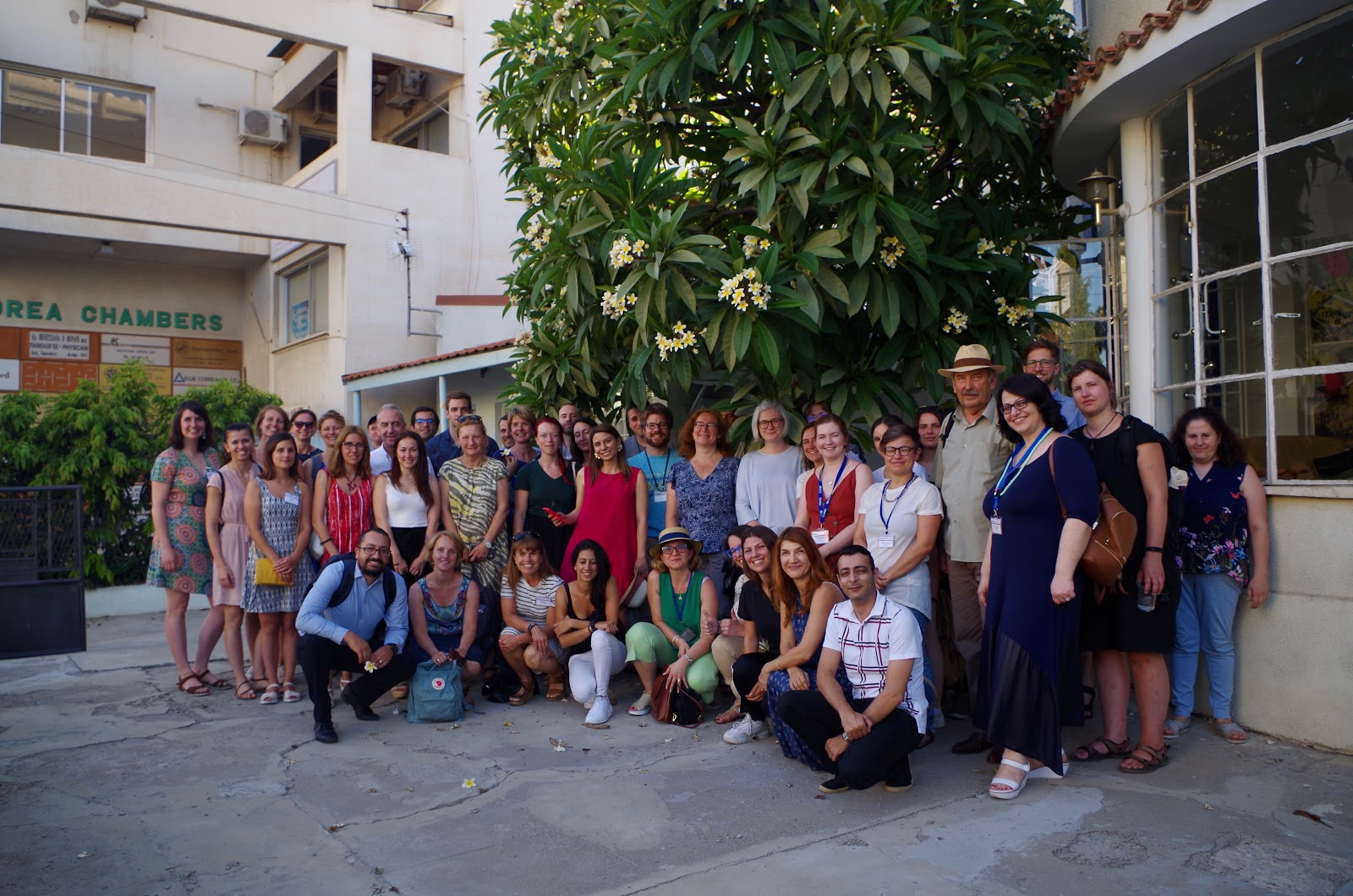 Participants of the 2019 SciShops Summer School at Terra Cypria NGO.