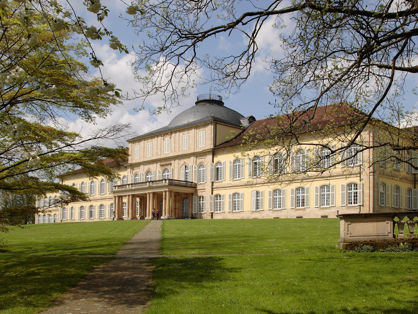 The University of Hohenheim. Photo: University of Hohenheim / Gabriela Hausenstein